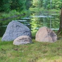Artificial Garden Rocks Outdoor Essentials Faux Rock X Large Garden