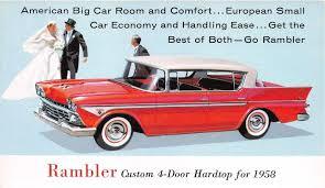 rambler car 1958 american motors