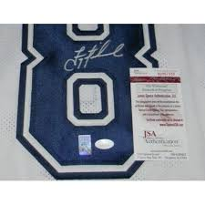 troy aikman autographed jersey 8 thanksgiving stat jsa