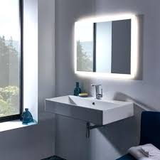 illuminated bathroom mirrors ukgem rectangular illuminated mirror