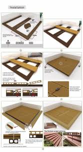 outdoor laminate ironwood timber wooden furniture wpc epoxy floor