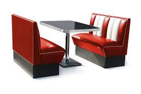 set de cuisine retro retro furniture diner booth 120cm four seater set