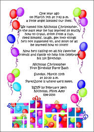 kids birthday invitation wording orionjurinform com