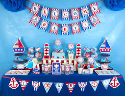 sailor baby shower decorations owlie powlie