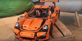 lego porsche 911 gt3 rs lego technic porsche 911 gt3 rs walkaround video shows the
