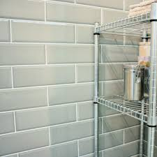 edgar u0027 brick effect metro ceramic green gloss bevelled edge wall