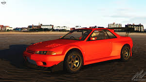 red nissan car nissan skyline r32 gtr widetrack nissan car detail assetto