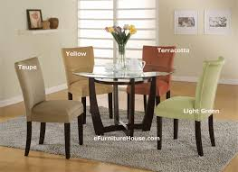 Adorable Round Glass Dining Room Table With Glass Top Dining Room - Round glass dining room table sets
