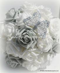 wedding flowers ebay 77 best silver theme wedding images on bouquets