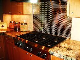 Kitchen With Stainless Steel Backsplash Kitchen Backsplash Achievements Stainless Steel Kitchen