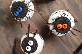 spider oreo cupcakes diethood