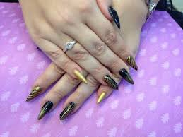 55 best stiletto nail art design ideas