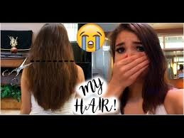 I Messed Up On The - i messed up my hair how to trim your own hair gone wrong youtube