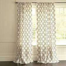 Ikeas Curtains Royal Design Studio Stenciled Curtains Knock Off Ballard Designs