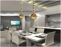 home design niche modern aurora pendant lights above a dining