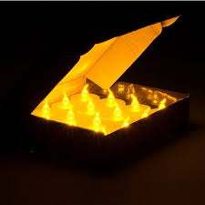 Small Battery Operated Led Lights 24pcs Small Plastic Wholesale Flameless Candle With Timer Electric