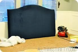 diy wingback headboard tutorial with free pattern all things thrifty
