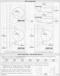 kitchen cabinet hinge measurements kitchen
