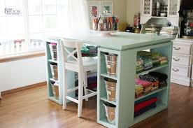 kids craft table with storage craft tables with storage attempting to organize your creativity