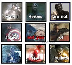 Meme Marvel - notyou marvel meme album on imgur