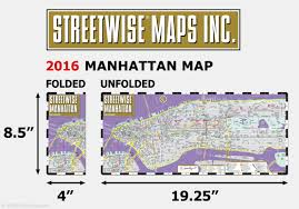 Map Of Manhattan Neighborhoods Streetwise Manhattan Map Laminated City Street Map Of Manhattan