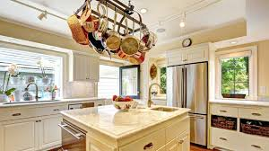 Kitchen Island With Hanging Pot Rack Kitchen Hanging Pot Rack Snaphaven