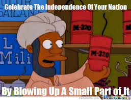 4 Of July Memes - happy 4th of july from the simpsons by cynicaljoseph meme center