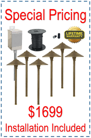 Led Low Voltage Landscape Lighting Kit Led Pathway Lighting Kits Low Voltage Outdoor Light Sets For Areas