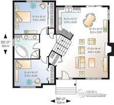 chambre split plans de maisons avec chambre au rez de chaussee et garage