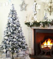white silver tree decorations ideas psoriasisguru