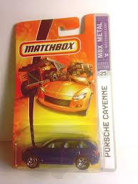 porsche matchbox amazon com matchbox porsche cayenne 25 mbx metal 1 64 scale