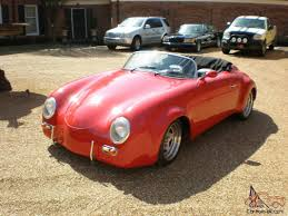 porsche speedster for sale 356 wide body speedster replica