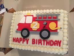 firetruck cake truck birthday cake template fashion ideas