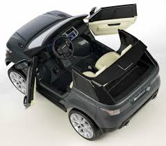 avigo range rover sport 12 volt ride on gray toys