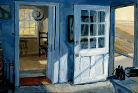 philip koch paintings carving out the space or painting with a