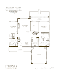 floor plans u2013 oakmont of segovia