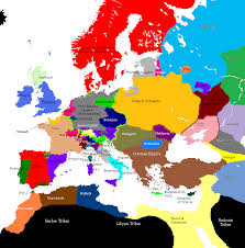 Holy Roman Empire Map Margaret Maid Of Norway In Maps From 1480 Timeline Do Not Post