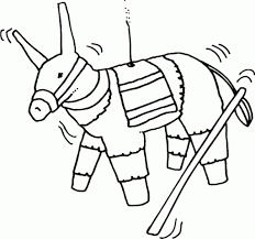 pinata coloring page new pinata coloring page designs 49000