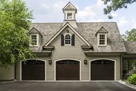 three car garage at colonial home 51001 house decoration ideas