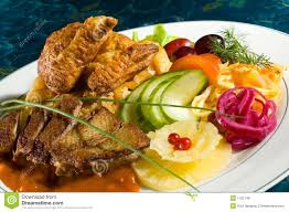 Entree by Stewed Duck Entree Royalty Free Stock Photos Image 1702148