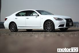 lexus sports car white 2013 lexus ls460 f sport motoring middle east car news reviews