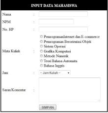 membuat form input menggunakan html membuat form mahasiswa dengan html part 1 jagocoding com