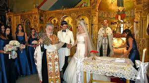 orthodox wedding candles church wedding in the russian church in athens