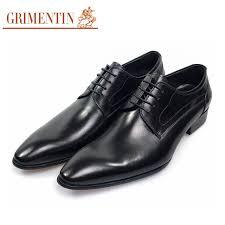 dress shoes aliexpress com buy grimentin wedding dress shoes genuine