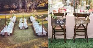 Wooden Wedding Chairs Hitched Wedding Planners Singapore Rustic Themed Wedding