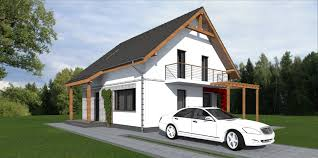 attic style house design house pm02 148 square meters 1593
