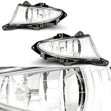 2010 hyundai elantra tail light assembly amazon com cciyu clear fog light assembly for 2007 2010 hyundai