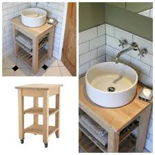 Expedit And The Bathroom Sink Ikea Hackers Ikea Hackers by Une Salle De Bain Ikea Hacks Ikea Hack Bathroom Kids And Hall