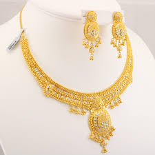 gold necklace sets images 22 carat indian gold necklace set 46 6 grams forever and awwake me jpg