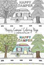 napping house coloring pages happy camper coloring page u create happy campers free